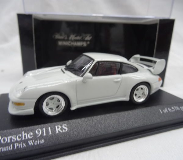 Porsche 911 RS 1995 Wit 1:43 Minichamps