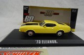 "Ford Mustang 1973 Mach 1 ""Eleanor"" Geel 1:43 Greenlight Collectibles"