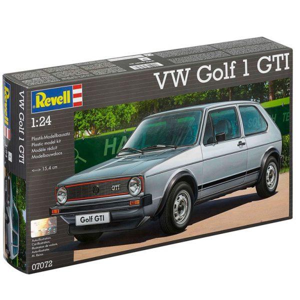 Volkswagen Golf 1 GTI schaal 1:24 Revell Bouwdoos