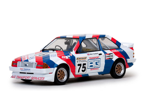 Ford Escort MkIII RS1600i - #75 1988 British Touring Car Championship Mark Goddard 1-18 Sun Star Limited 999 pcs.