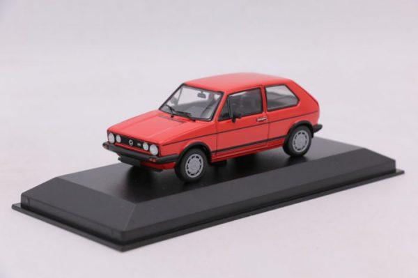 Volkswagen Golf 1 GTi 1983 Rood 1-43 Maxichamps