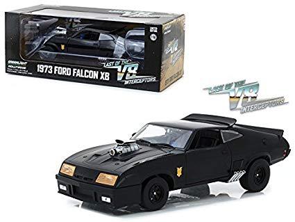 "Ford Falcon XB V8 Interceptor 1973 ""Mad Max "" Zwart 1-18 Greenlight Collectilbles"
