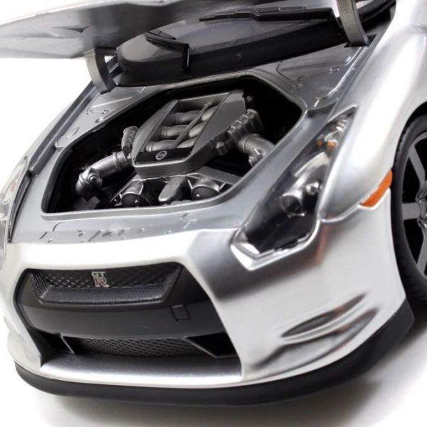 "Nissan Skyline GT-R R35 2009 ""Fast & Furious"" Zilver 1:18 Jada Toys"