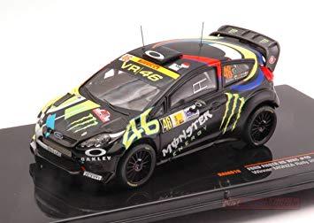 ord Fiesta RS WRC #46 Winner Monza Rally 2012 Valentino Rossi 1-43 Ixo Models