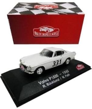 Volvo P1800 #331 R.Backlund/N.Falk Rally Monte Carlo 1962 1-43 Atlas Collection