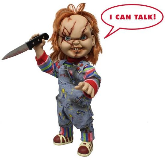 Action figure Chucky Child's Play talking 40 cm ( 18 Inch )Mezco Toyz