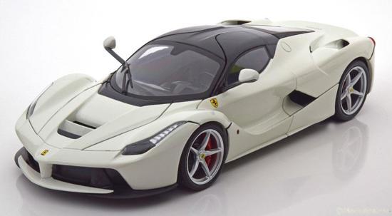"""Ferrari """"LaFerrari""""2013 Wit 1-18 Hotwheels"""