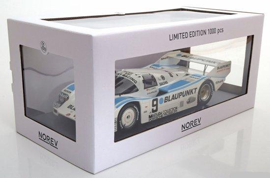 Porsche 962 C No.9, 1000km Nürburgring 1987 NR#9 Blaupunkt, 1-18 Norev Limited 1000 pcs.