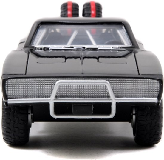 """Dodge Charger R/T 1970 Off Road Dominic's """"Fast and the Furious 7""""1-24 Zwart Jada Toys"""