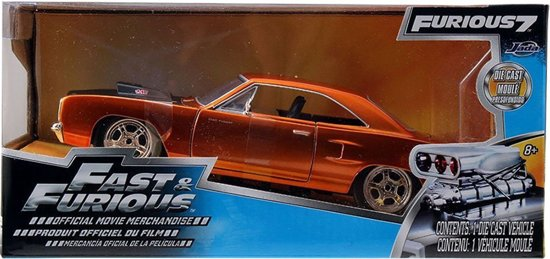 """Plymouth Road Runner 1970 """"Fast & Furious' 1:24 Jada Toys"""