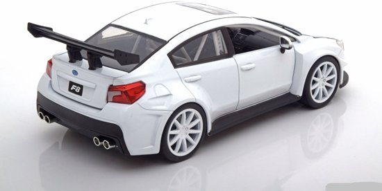"Subaru WRX STI Mr. Little Nobody's ""Fast and Furious 8"" Wit 1:24 Jada Toys"
