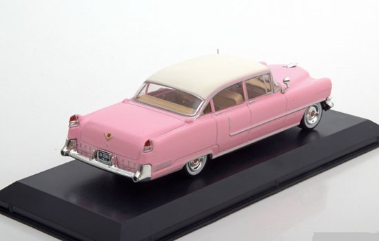 Cadillac Fleetwood Series 60 Elvis Presley Pink met wit dak 1:43 Greenlight Collectibles
