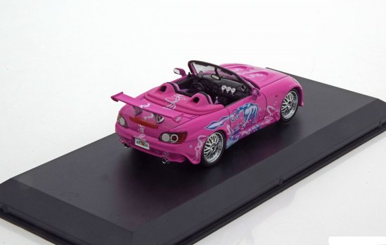 "Honda S2000 "" The Fast And The Furious"" Roze 2 Fast 2 Furious 1:43 Greenlight Collectibles"
