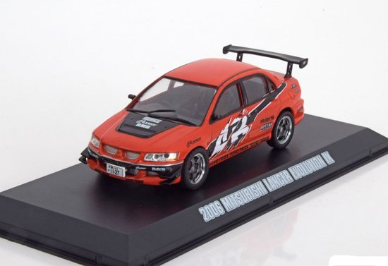 "Mitsubishi Lancer Evo VIII Sean's ""The Fast And The Furious' Rood 1-43 Greenlight Collectibles"