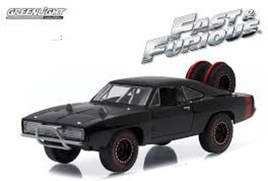 "Dodge Charger Dom's 1970 ""The Fast And The Furious""1-43 Zwart Greenlight Collectibles"