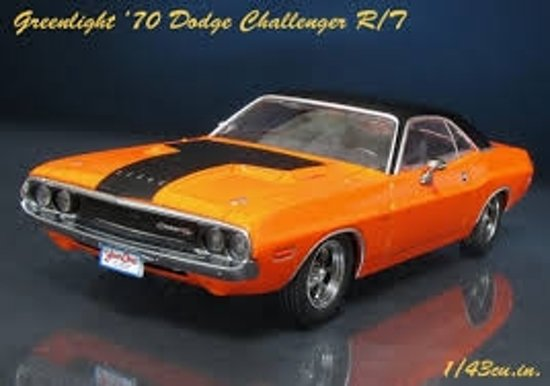 Darden's Dodge Challenger R/T 1970 Fast and the Furious Oranje 1-43 Greenlight Collectibles