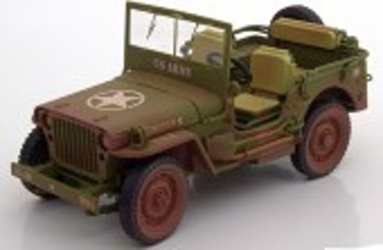 Willy´s Jeep US Army 1942 Dirty Version 1:18 Triple 9 Collection