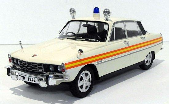 Rover 3500 V8 RHD 1974 Metropolitan Police GB 1-18 Metal MCG Models