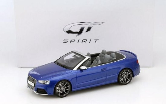 Audi RS5 Cabriolet2012-2015 Blauw 1:18 GT Spirit Limited 504 Pieces