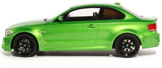 BMW 1M E83 Coupe 2012 1:18 Groen metallic GT Spirit Limited 504 pcs.