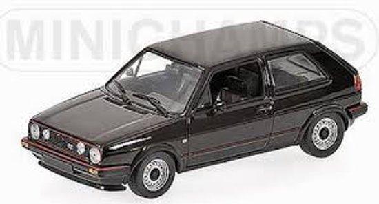 Volkswagen Golf II GTi 1985 Zwart 1-43 Minichamps Limited 1344 pcs.