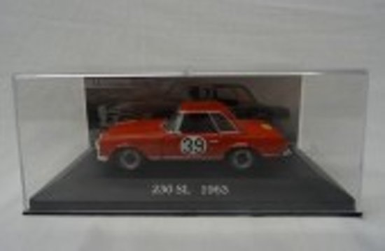 Mercedes-Benz 230 SL Nr# 39 1963 Rood 1-43 Altaya Mercedes Collection