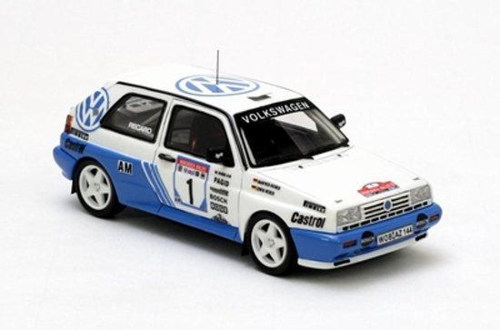 Volkswagen Rallye Golf G60 #1 Germany Rally Champions 1991 Weber/Heimer 1:43 Neo scale models