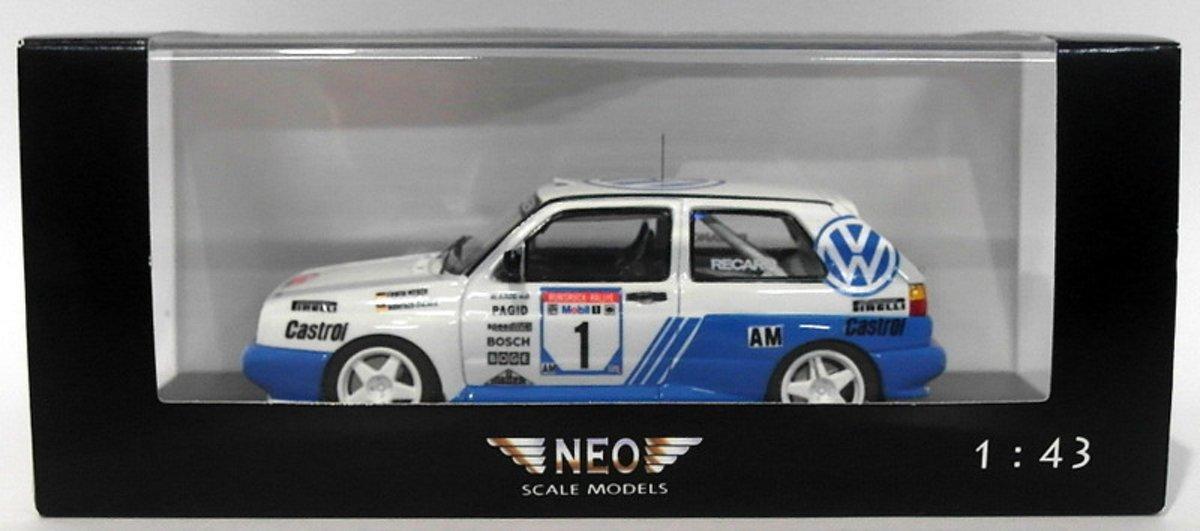 Volkswagen Rallye Golf G60 #1 Germany Rally Champions 1991 Weber/Heimer 1:43 Neo scale models