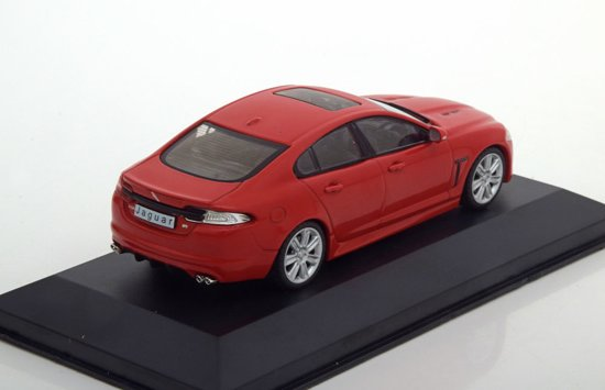 Jaguar XFR 2010 Rood 1-43 Whitebox Limited 1000 Pieces