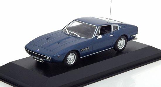 Maserati Ghibli Coupe 1969 Blauw 1-43 Maxichamps