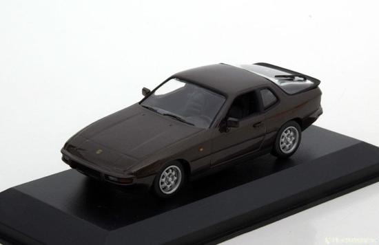 Porsche 924 1984 Bruin 1:43 Maxichamps
