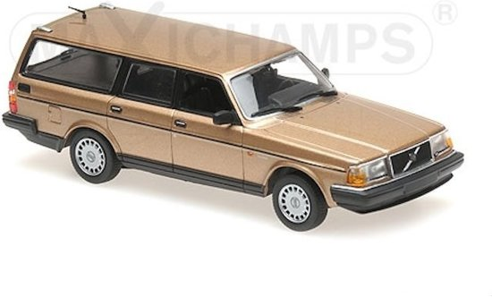 Volvo 240 GL Break 1986 Goud 1-43 Maxichamps