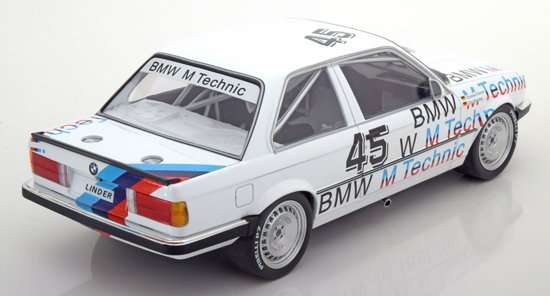 BMW 325i E30 No.45, ETCC 1986 Danner/Rensing 1-18 Minichamps Limited 350 pcs.