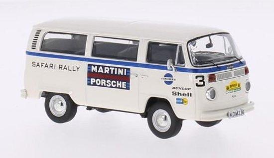 "Volkswagen T2b Bus Servicewagen ""Martini Porsche"" Rallye Safari 1978 1:43 Premium ClassiXXs"