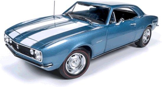 Chevrolet Camaro Z28 1:18 Blauw Ertl Autoworld