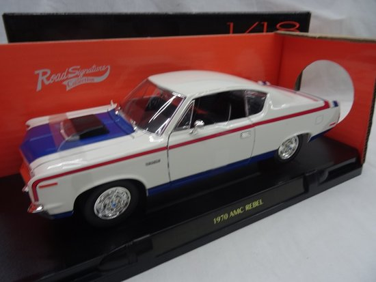 AMC Rebel 1970 Wit 1-18 Lucky Diecast