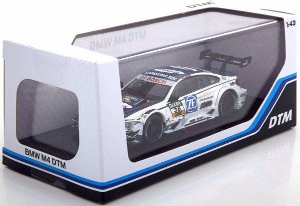 BMW M4 No.36, DTM 2017 Martin Wit / Blauw 1-43 Herpa