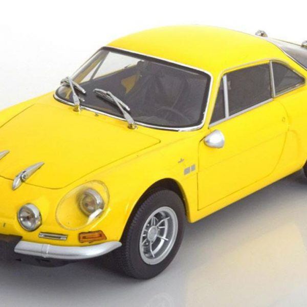 Renault Alpine A110 1600S Geel 1-18 Kyosho