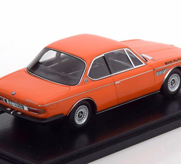 BMW 3.0 CSL E9 Alpina Oranje 1-43 Spark