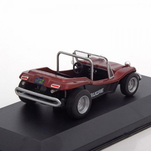 Bugre Buggy 1970 Donkerrood Metallic 1-43 Whitebox Limited 1000 Pieces