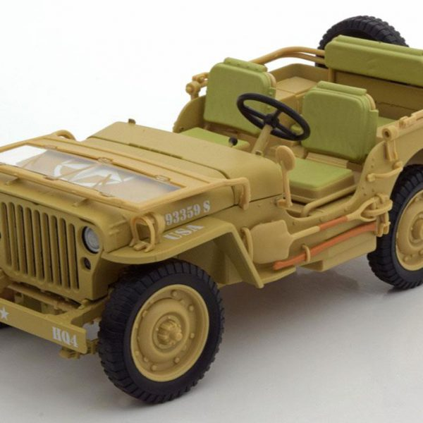 Willy´s Jeep Casablanca 1943 Desert Sand 1:18 Triple 9 Collection