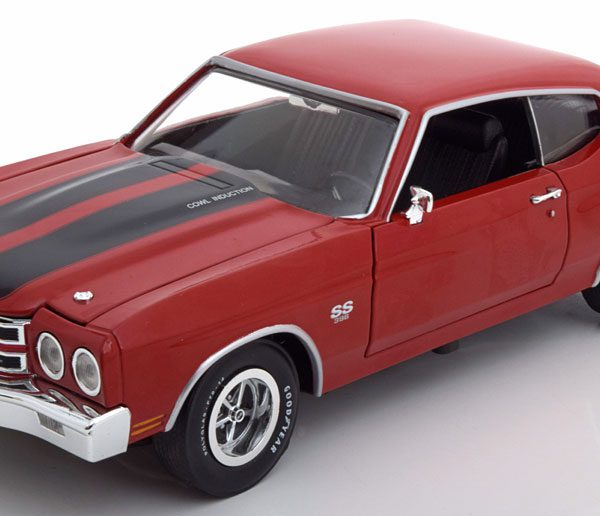 Chevrolet Chevelle SS 1970 Rood 1:18 Ertl Autoworld Limited 1002 pcs.