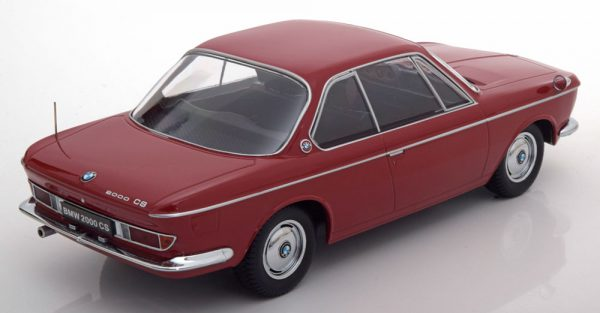 BMW 2000 CS Coupe 1965 Donkerrood BMW 2000 CS Coupe 1965 Donkerrood 1/18 KK Scale Limited Edition 1000 pcs
