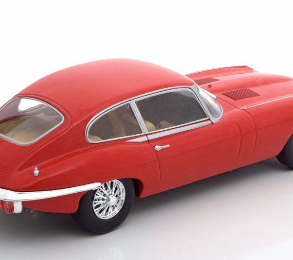 Jaguar E-Type 1962 Rood 1-24 Whitebox