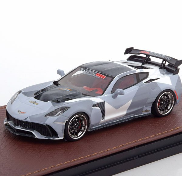 "Chevrolet Corvette C7 Widebody DarwinPro BlackSails ""Camouflage"" 1-43 GLM Models Limited 199 Pieces"