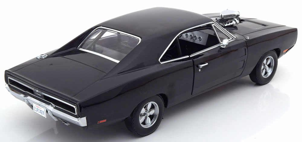 "Dodge Charger 1970 Dom's ""Fast and the Furious"" Zwart 1-18 Greenlight Collectibles"
