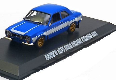"Ford Escort I RS ""Fast And Furious"" Blauw 1-43 Greenlight Collectibles"