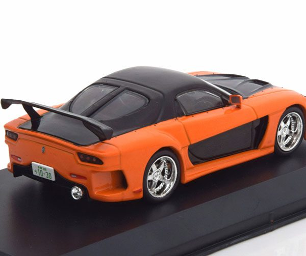 "Mazda RX-7 Tokyo Drift ""The Fast And The Furious' Oranje / Zwart 1:43 Greenlight Collectibles"