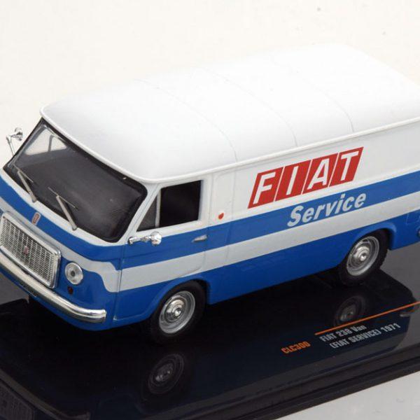 """Fiat 238 Van 1971 """"Fiat Services """" 1-43 Ixo Models -"""