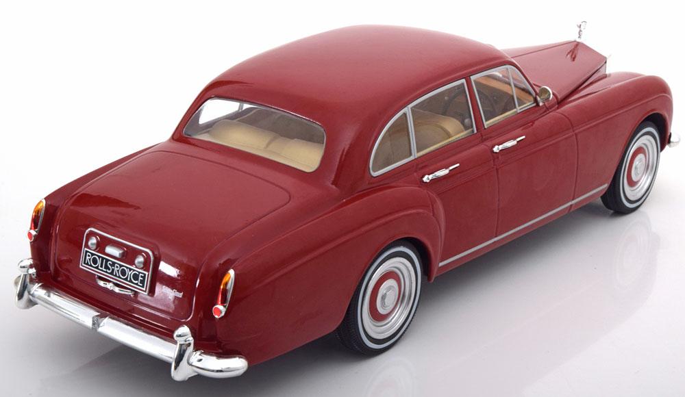 Rolls-Royce Silver Cloud 3 Flying Spur RHD H.J. Mulliner Rood 1-18 MCG Models Metal